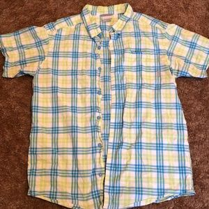 Columbia Men's short sleeved button up